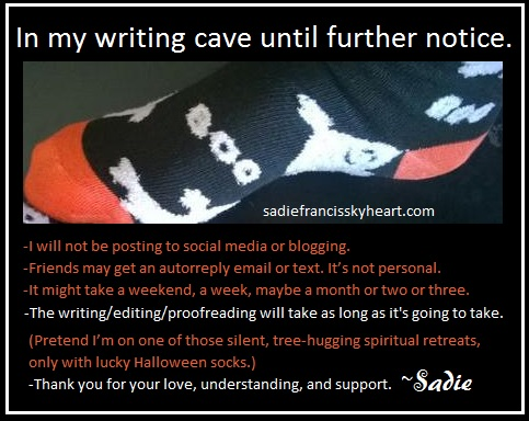 writing cave notice